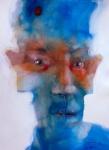 © 'Age of Anxiety' 2013 acrylic on paper Peteris Ciemitis