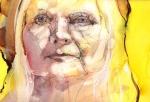 © 'Damn Fine' 2007 watercolour on paper Peteris Ciemitis