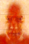 © 'Breath #3' 2010 acrylic on canvas Peteris Ciemitis