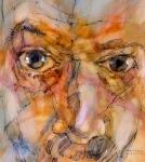 © 'Finding Ithaca' 2007 mixed media on canvas Peteris Ciemitis