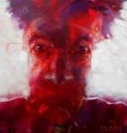 © 'Identity Dissonance' 2013 acrylic on canvas Peteris Ciemitis
