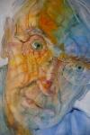© 'Making Sense of Place #4' 2007 watercolour on paper Peteris Ciemitis