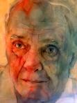 © 'Stavros' 2013 acrylic on paper Peteris Ciemitis