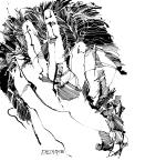 © 'The Storm' 2016 ink on paper Peteris Ciemitis