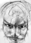 © 'Troy Roberts #1' 2008 charcoal on paper Peteris Ciemitis