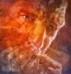 © 'Black and Blue' 2009 acrylic on Canvas Peteris Ciemitis